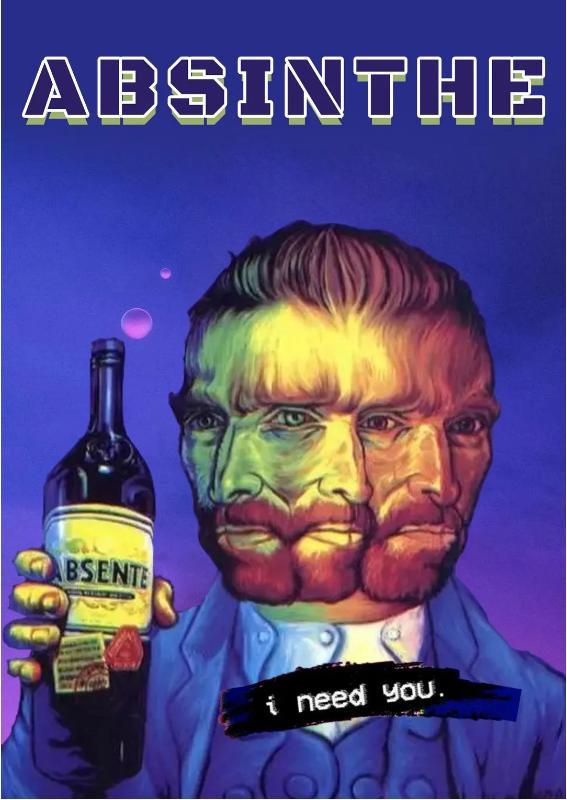 梵高之所以成为艺术家,原来是因为喝了这个