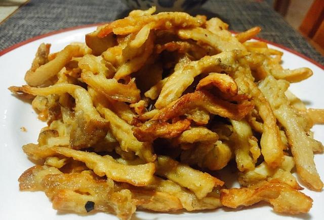 【步骤图】椒盐蘑菇的做法_椒盐蘑菇的做法步骤_家常菜_下厨房