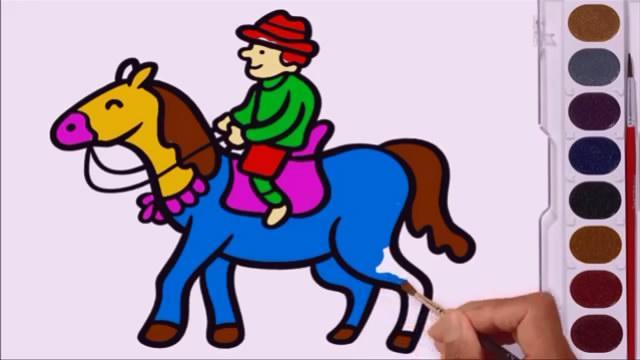 骑马的人是谁