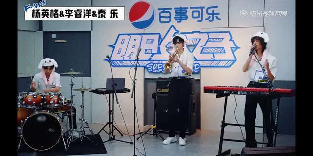《明日之子4》燃起乐团PK战 泰乐展表演才华未来可期