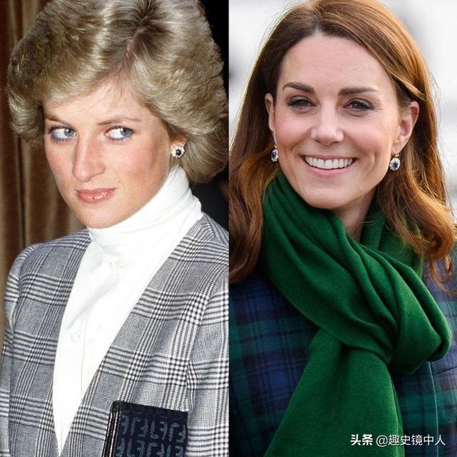 戴妃珠宝重见天日,看凯特梅根戴了什么就知道戴妃遗产怎么分