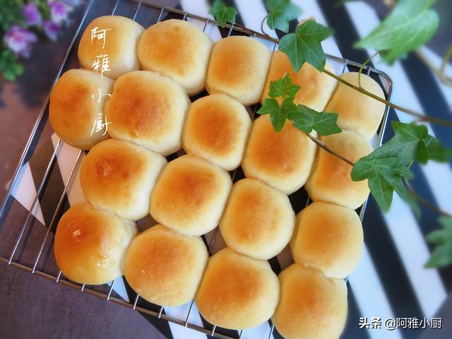 蜂蜜小面包的做法,香甜松软,孩子一口气吃了三个,太好吃了
