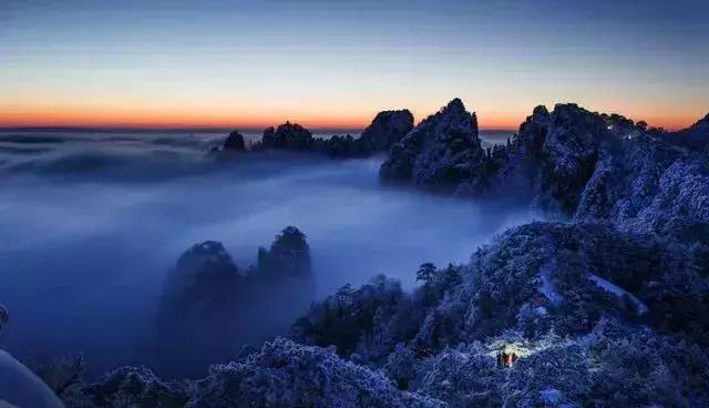 冬天去黄山旅游度假,选择这10家最美的酒店准没错
