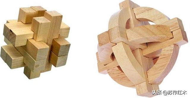 鲁班锁12根解法图