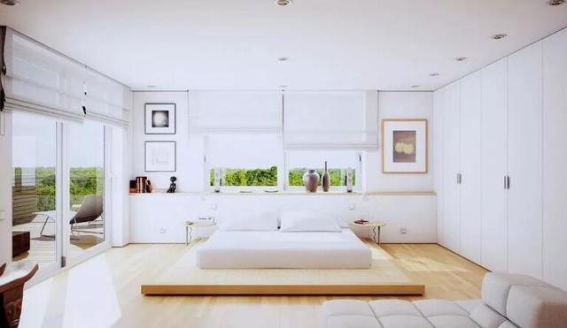 地台床,在12㎡的房间体会120㎡的宽阔感