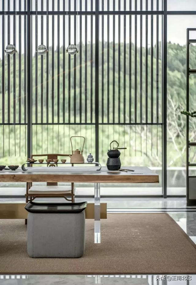 89平现代简约三室,用小空间作禅意茶室