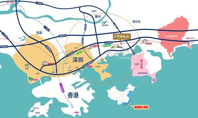 临近深圳区域最近海景的别墅神盘