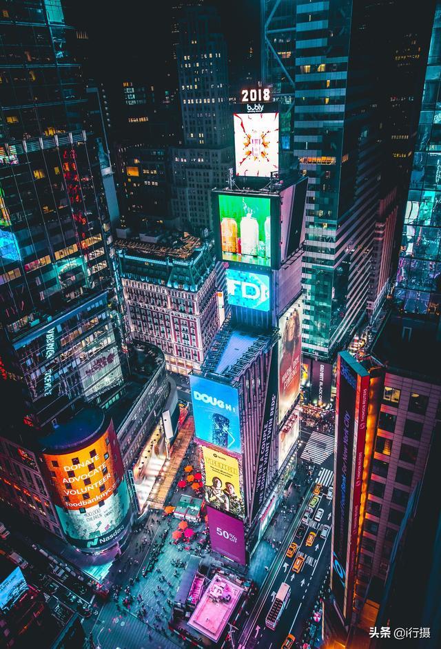 纽约时代广场跨年