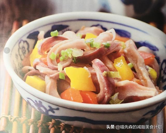补虚损,健脾胃的甜椒炒肚片,美味百分百