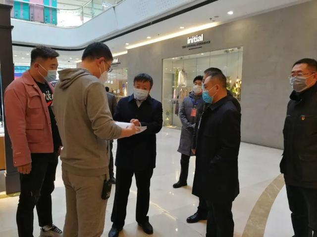 赤峰市红山区政府副区长张志强带队检查指导企业复产复工工作