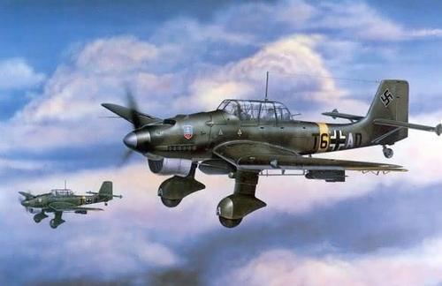 二战主力战机总览——德国(三),轰炸机篇,德意志的力量