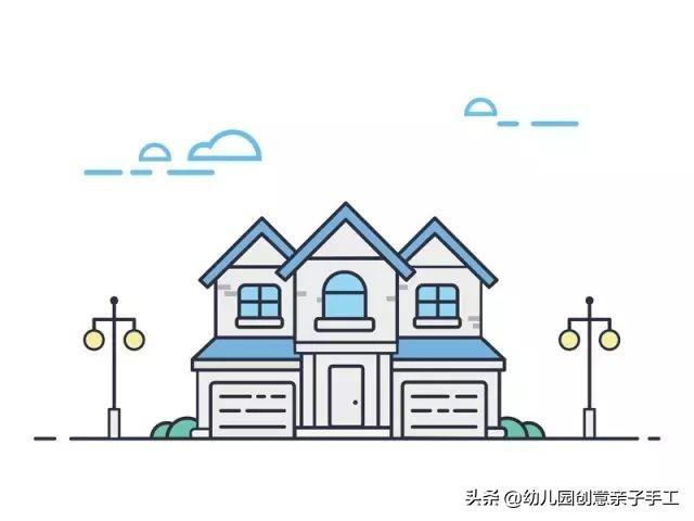 中国建筑简笔画图片_中国建筑简笔画设计素材_红动手机版