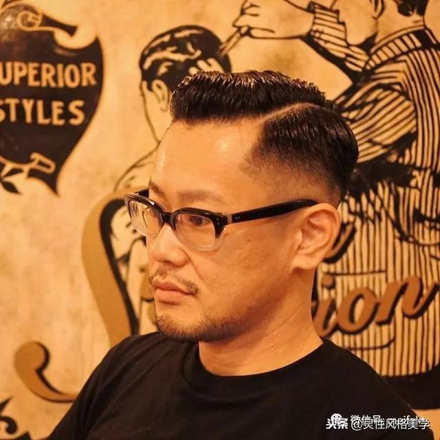 男士经典侧分发型,这才是正确的打开方式!
