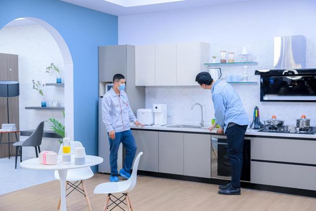 厨房改造从何下手?找海尔食联网,上海金鼎公寓中西双厨3天焕新