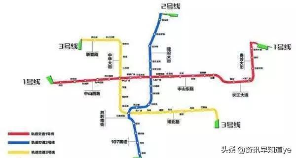 石家庄地铁三号线最新消息(线路图+站点+开通时间)