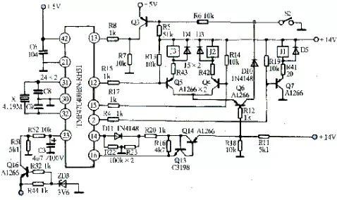 格兰仕微波炉电路图解