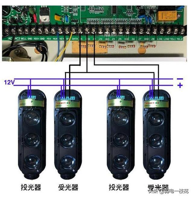 简易却科技感十足的红外线报警装置,正儿八经的黑科技