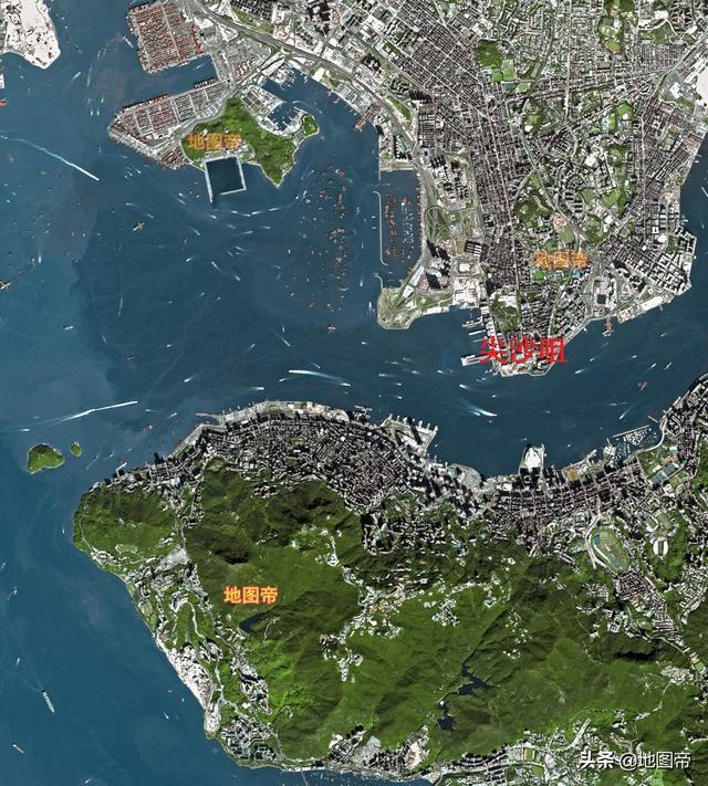香港地图全图大图