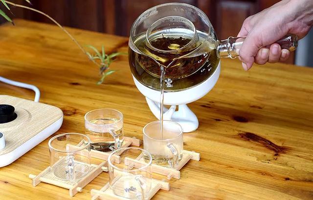 日本玻璃煮茶器图片