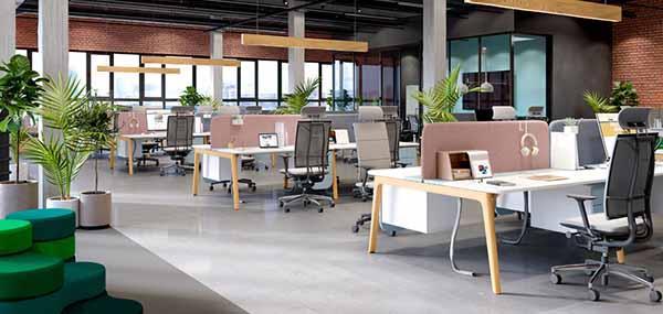 时尚办公室家具,不同办公区域的设计方案也不同