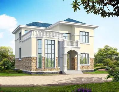 两层半复式别墅设计图