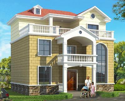 5款新农村二层半自建房经典案例,1、3款带独立厨房,5款有堂屋