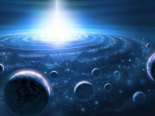白洞是真实存在的吗?有科学家猜测,类星体的核心可能是一个白洞