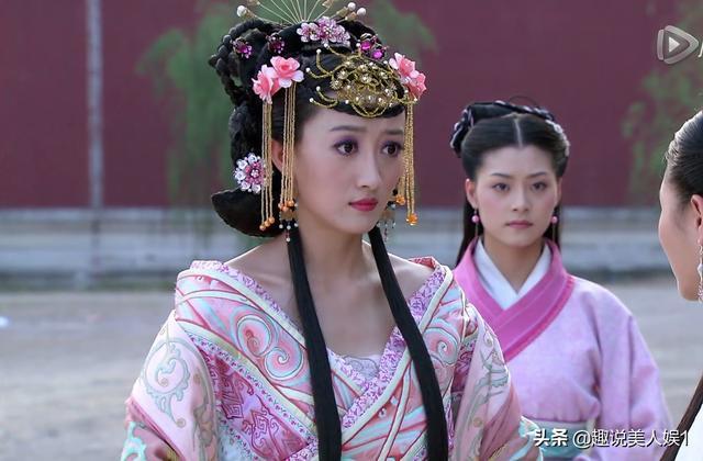 华丽丽的8大粉色宫廷装:聂慎儿不是最美,赵合德才叫绝色美人