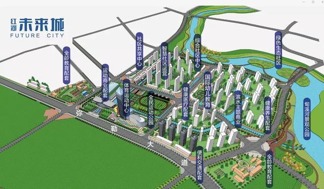 弥勒土拍再收入3.2亿,这个投资110亿的体育综合体首次拿地