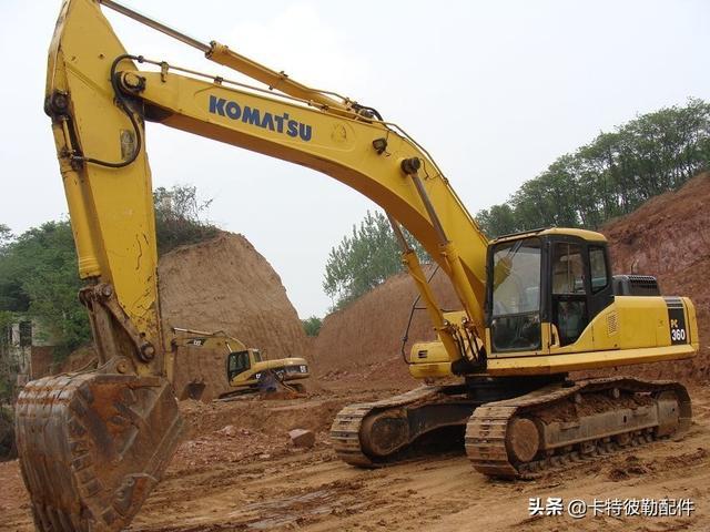 常用的挖掘机维修操作