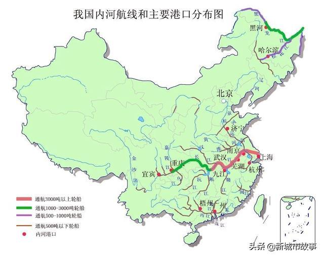 中国港口分布图_文档下载