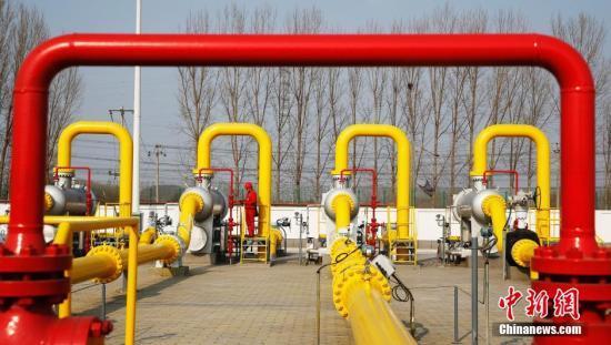 中国天然气进口管道图