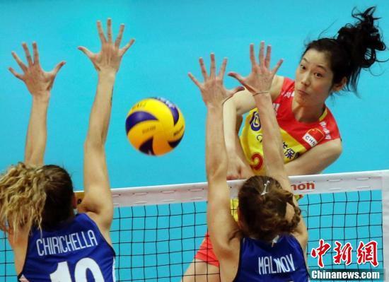 中国女排憾负意大利 无缘世锦赛决赛
