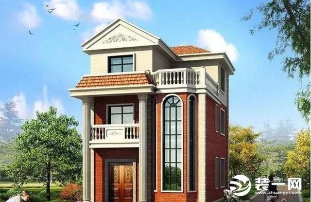 3款80平方米小户型别墅设计施工方案二层农村... - 乐美宅别墅网