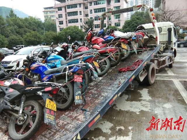 """湘西州摩托车整治成效显著 涉""""摩""""交通事故下降30%"""