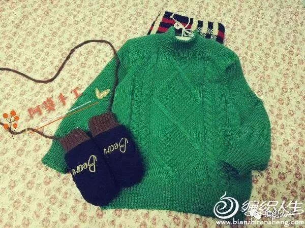 教你打宝宝毛衣 新手编织宝宝毛衣