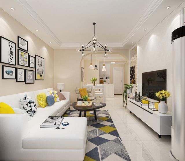 80平的房子装修效果图 简装解决小空间问题_齐家网