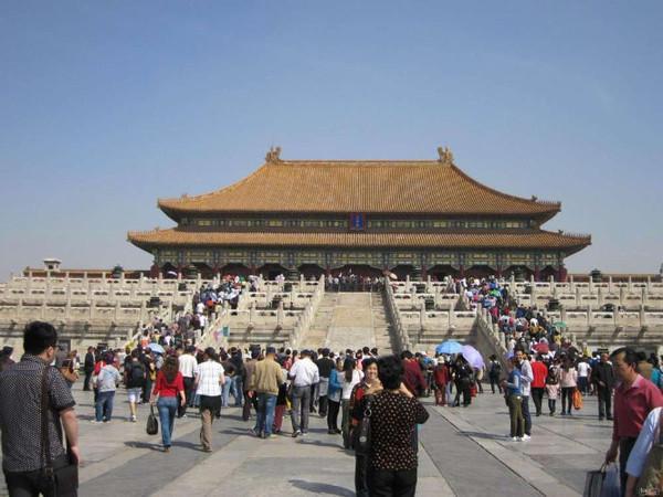 北京旅游手绘地图