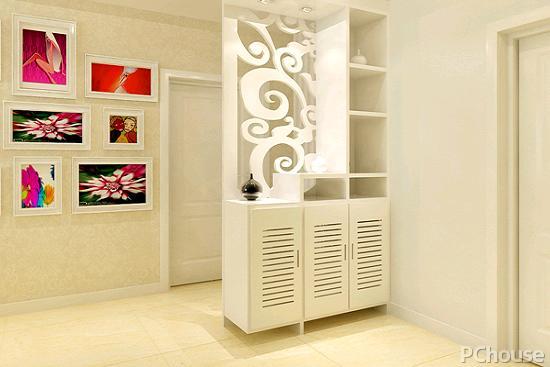 客厅整面墙柜子效果图