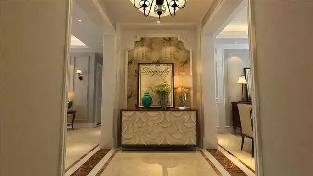 130平美式三居装修实例图,大户型这样装修,古典又不失贵气!