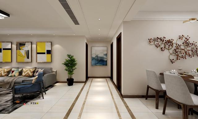 济宁南风花园 13号楼167平米 现代简约装修设计方案