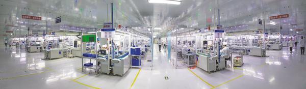 实拍江西吉安6万人的上市公司,江西立讯智造。