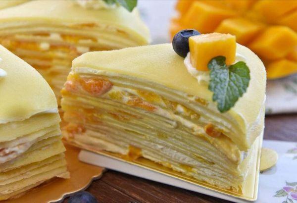 最好吃的千層蛋糕做法,學會了刷爆朋友圈!