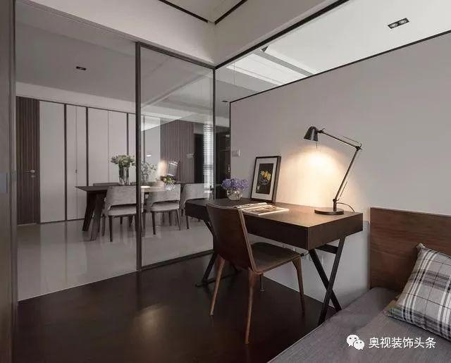 书房兼卧室设计效果图_查查吧手机网