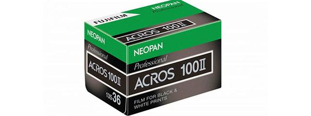 富士复活黑白胶卷 Neopan 100 ACROS Ⅱ秋季上市