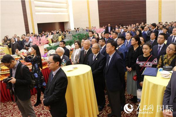 中国驻哈萨克斯坦大使馆举行国庆升旗仪式-新闻频道-长城网