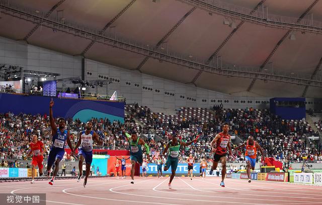 田径世锦赛|美国队连续创造世界纪录,问鼎4X400米混合接力冠军