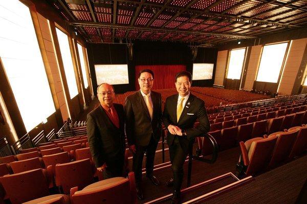曼谷地标项目ICONSIAM开放新的国家会议中心True Icon Hall