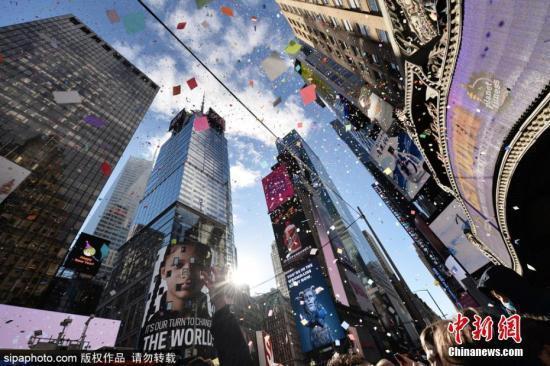 纽约时代广场大屏幕