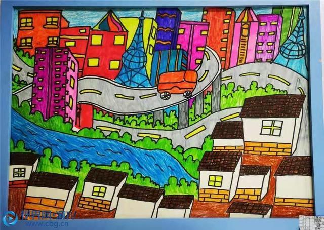 画一幅我的家乡图画